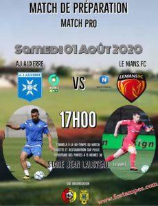 AJ AUXERRE(L2) – FC LEMANS(N)